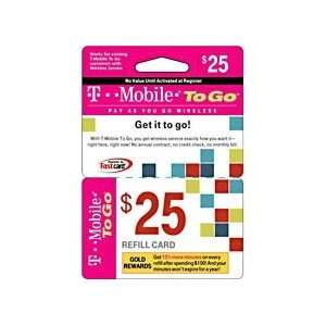 Mobile To Go Prepaid Wireless Refill Card Cell Phones & Accessories