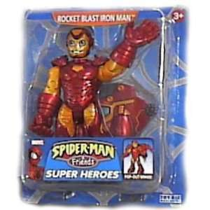 Spider man & Friends Rocket Blast Iron Man Super Heroes