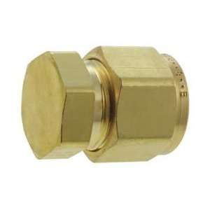16threaded Tube Cap Cpi Compression Fitting