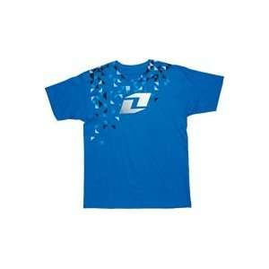 2012 ONE INDUSTRIES GRIME TEE SHIRT BRIGHT BLUE EXTRA
