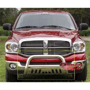 06 08 Dodge Ram 1500 Bull Bar Polished Stainless Steel