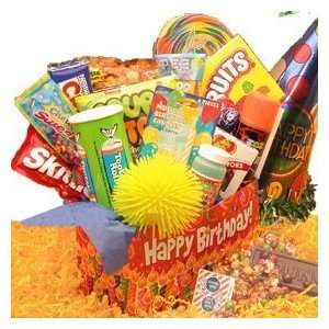 Deluxe Happy Birthday Care Package Gift Grocery & Gourmet Food
