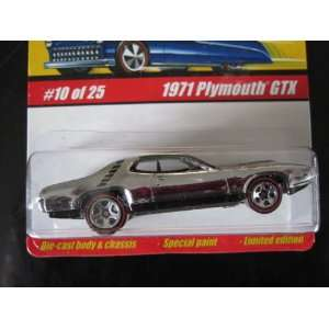 1970 Plymouth GTX (Chrome) 2005 Hot Wheels Classics Series