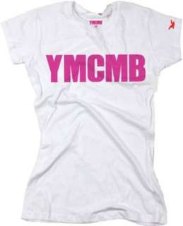 YMCMB Juniors T shirt Pink Print Young Money Cash Money Clothing