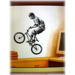 Extreme Sports BMX Bike Wall Mural Sticker Decal
