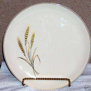 Salem Royal Joci China Dinner Plates Wheat 23k Gold