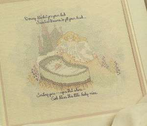 BABY Cross Stitch Pattern Leaflet SWEETEST DREAMS Leisure Arts