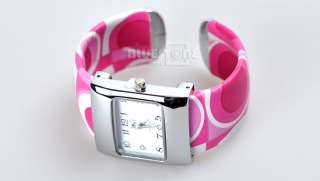 Ladies Girl Fashion Quartz Metal Bracelet Wrist Watch