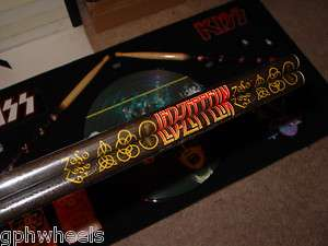 LED ZEPPELIN ZEP DRUM STICK SET ROBERT JIMMY JOHN BONZO  NICE