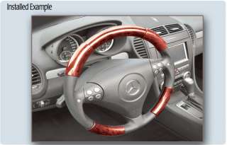 GMC Envoy Wood Steering Wheel Cover Parts RW