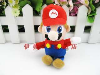 New Red Super Mario Bros Plush Doll Toy000101