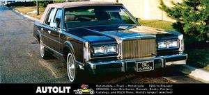 1988 Lincoln Town Car Custom Grille Factory Photo