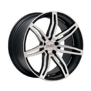 Axis Angle (Machine Polished Face w/ Matte Black Accents) Wheels/Rims