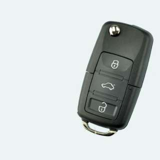 Flip Keyless Key Shell For VW Jetta Passat Golf Remote
