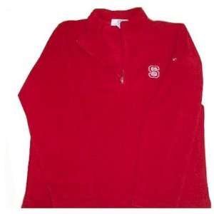 North Carolina State Wolfpacks Microfiber 1/4 Zip Fleece W