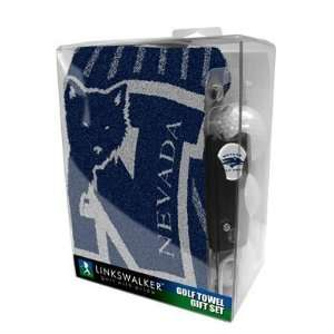 Nevada Wolf Pack Golf Towel Gift Pack   NCAA College