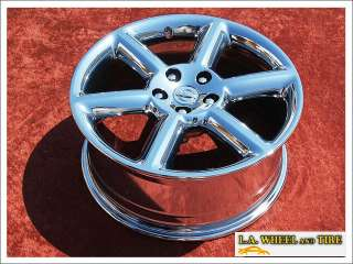 18 NISSAN 350Z OEM CHROME WHEELS RIMS MAXIMA EXCHANGE