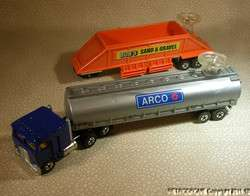 Wheels Steering Rigs Arco Truck & Bobs Sand & Gravel Trailer