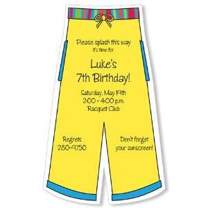 Childrens Birthday Party Invitations   DC 128