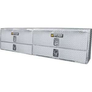 Aluminum Rail Top Truck Box   Diamond Plate