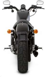 2010 2012 Harley Sportster Forty Eight Akrapovic Dual Black Open Full
