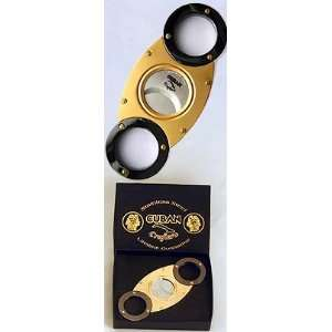Cuban Crafters CC08SS Gold and Titanium Wholesale Cigar Cutter   Self