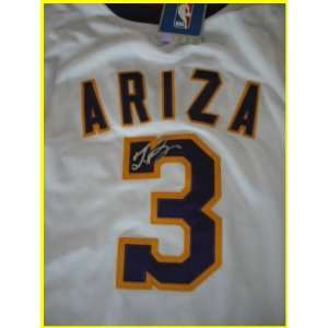 Trevor Ariza Autographed/Hand Signed Jersey Sports