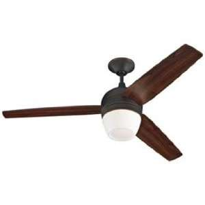 Monte Carlo Merlot Roman Ceiling Fan with Light Kit