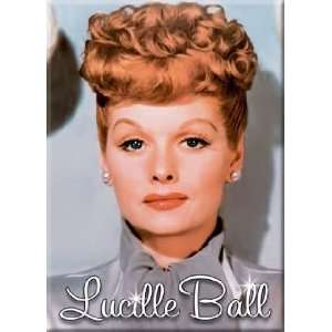 I Love Lucy Lucille Ball Grey Dress Magnet 29637LU