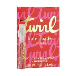 KATE SPADE TWIRL by Kate Spade EAU DE PARFUM SPRAY VIAL MINI ON CARD