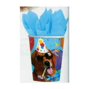 Party Dog Paper Cups Case Pack 3