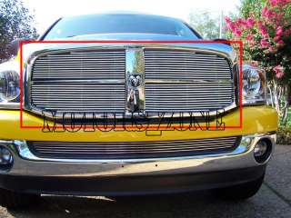 06 07 08 DODGE RAM PICKUP TRUCK GRILL BILLET GRILLE 4PC