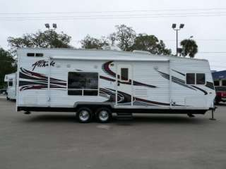 Loaded 2008 Eclipse Travel Trailer Toy Hauler Huge Garage, Generator