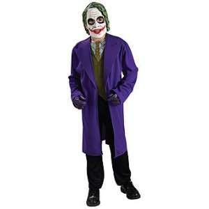 Batman Dark Knight Joker Costume Tween Standard