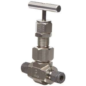 Valve, Inline, T Bar Handle, Blunt Stem, 3/4 CPI Compression Fitting