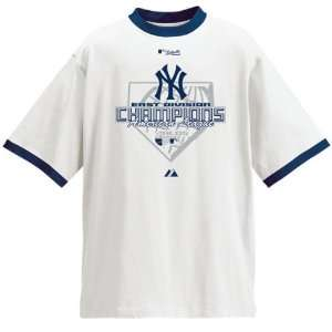 New York Yankees 2007 AL East Division Champs Official
