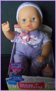 Little Mommy Real Loving Baby Cuddle & Coo Doll RARE Lavender Velour