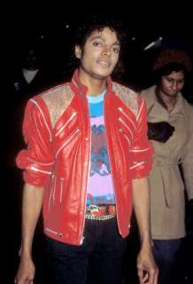 WOW MICHAEL JACKSON VINTAGE RED BEAT IT JACKET