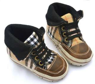 high top new infants toddler baby boy walking shoes EUR size 19 21 23