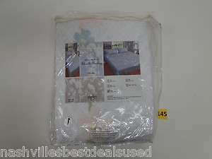Direct Home Textiles Group Victoria Bedspread Queen White 10MKVWTQ