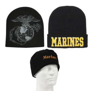 USMC Military Cold Weather Winter Watch Cap US Marine Corps Knit Hat