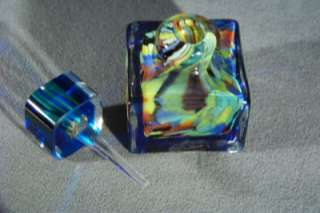 WOW ANTIQUE ITAIAN MURANO ART GLASS BOLD PERFUME BOTTLE