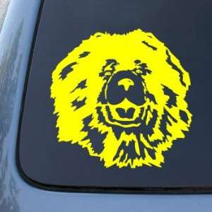 CHOW   Dog   Vinyl Car Decal Sticker #1500  Vinyl Color Yellow