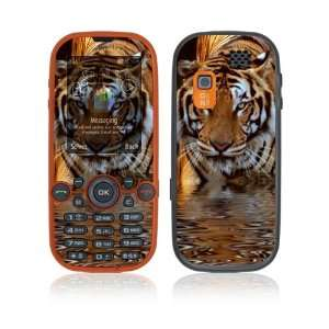 Samsung Gravity 2 Decal Skin Sticker   Fearless Tiger