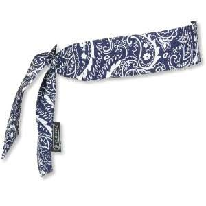 CHILL ITS COOLING BANDANA/HEADBAND   NAVY WESTERN   6