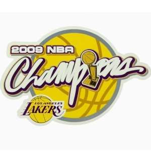 Los Angeles Lakers 2009 NBA Champions Car Magnet Sports