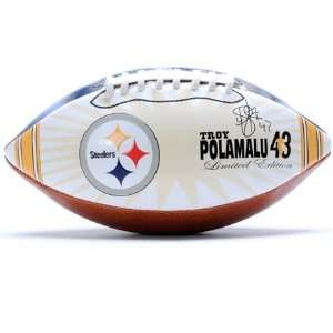 Troy Polamalu Pittsburgh Steelers Player Image Football