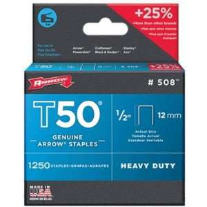 Arrow Fastener 50824 T50 Staples (Pack of 4)