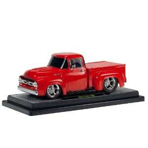 24 scale 56 Ford Truck Ground Pounder (Racing Red) Toys & Games
