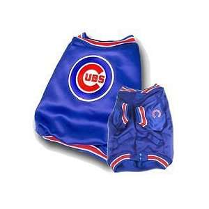 Chicago Cubs Baseball Dog Puppy Pet Dugout Jacket Coat